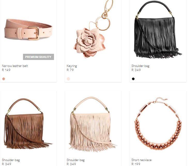hm accessories