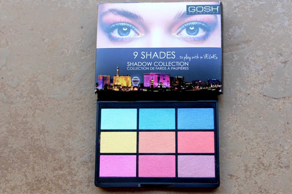 gosh 9 Shade Palette 4